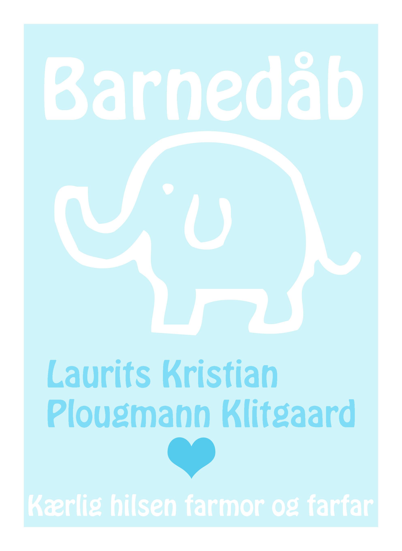 Laurits_barnedåb_kort